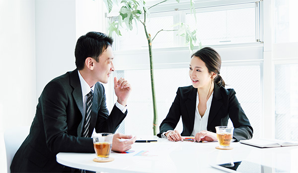 Conference · Business image · 2 people